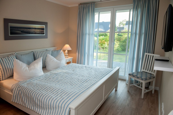 Möwenkoje – Schlafzimmer Doppelbett