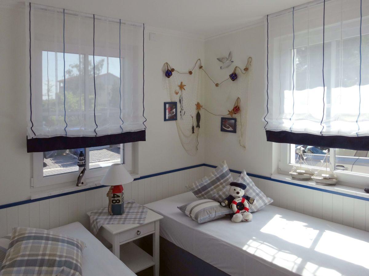 Käpt'n Adi – Schlafzimmer Einzelbetten